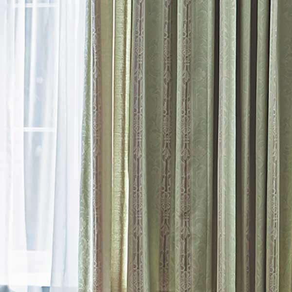 カーテン シェード 川島織物セルコン DRAPERY FT6211~6212 ソフトウェーブ縫製 約1.5倍ヒダ
