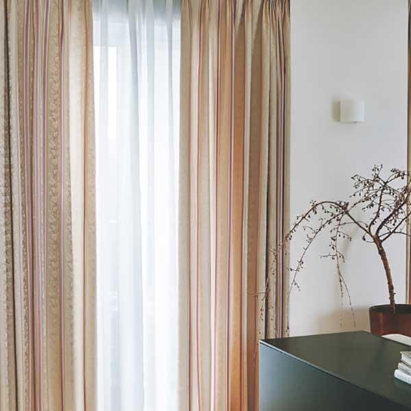 カーテン シェード 川島織物セルコン DRAPERY FT6213~6214 ソフトウェーブ縫製 約2倍ヒダ