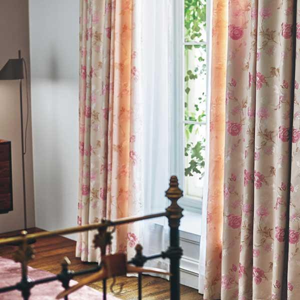 カーテン シェード 川島織物セルコン DRAPERY FT6237~6238 ソフトウェーブ縫製 約2倍ヒダ