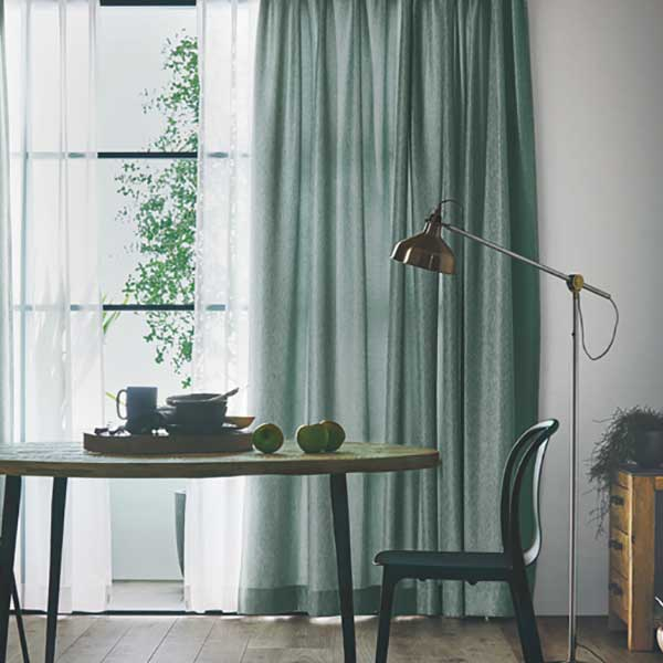 カーテンシェード川島織物セルコンROOMFORTWOFT6270~6274ソフトウェーブ縫製約1.5倍ヒダ