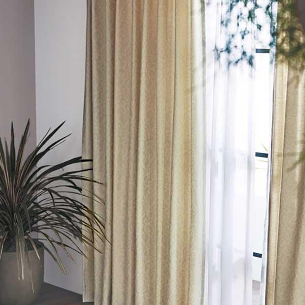 カーテン シェード 川島織物セルコン ROOM FOR TWO FT6284~6286 厚地+レース お買い得セットプラン ソフトウェーブ縫製 約1.5倍ヒダ