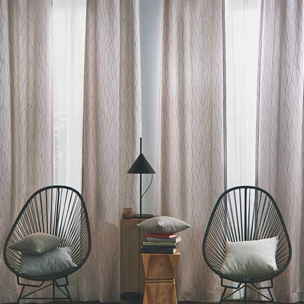 カーテン シェード 川島織物セルコン ROOM FOR TWO FT6287~6289 ソフトウェーブ縫製 約1.5倍ヒダ