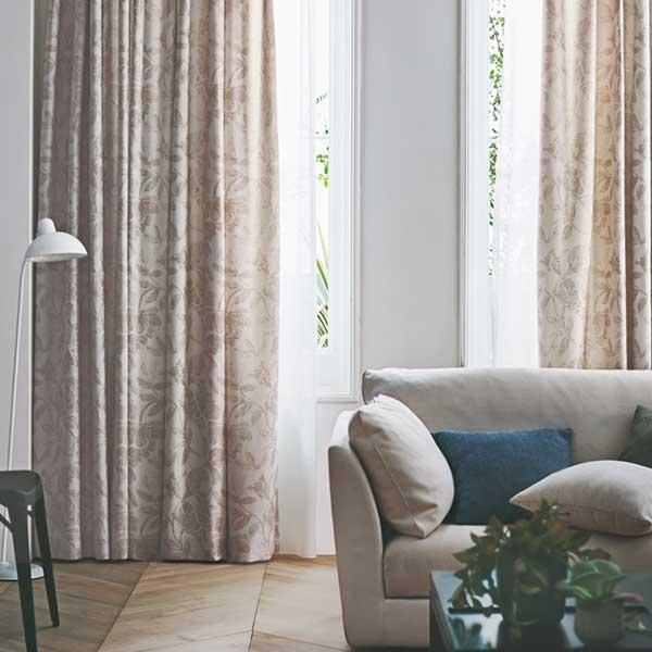 カーテン シェード 川島織物セルコン ROOM FOR TWO FT6298~6300 ソフトウェーブ縫製 約2倍ヒダ