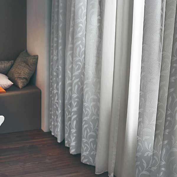 カーテン シェード 川島織物セルコン ROOM FOR TWO FT6313~6315 ソフトウェーブ縫製 約2倍ヒダ