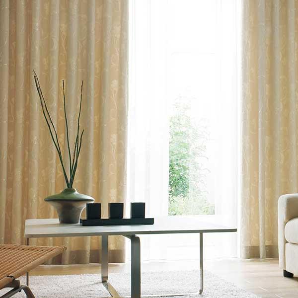 カーテン シェード 川島織物セルコン ROOM FOR TWO FT6320 ソフトウェーブ縫製 約1.5倍ヒダ