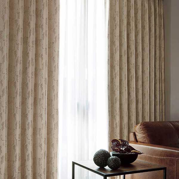 カーテン シェード 川島織物セルコン 遮光 FT6480~6481 ファインウェーブ縫製 約2倍ヒダ