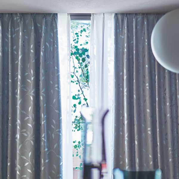 カーテン シェード 川島織物セルコン 遮光 FT6488~6489 ソフトウェーブ縫製 約2倍ヒダ