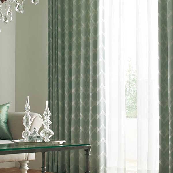 カーテン シェード 川島織物セルコン 遮光 FT6490~6492 ソフトウェーブ縫製 約2倍ヒダ