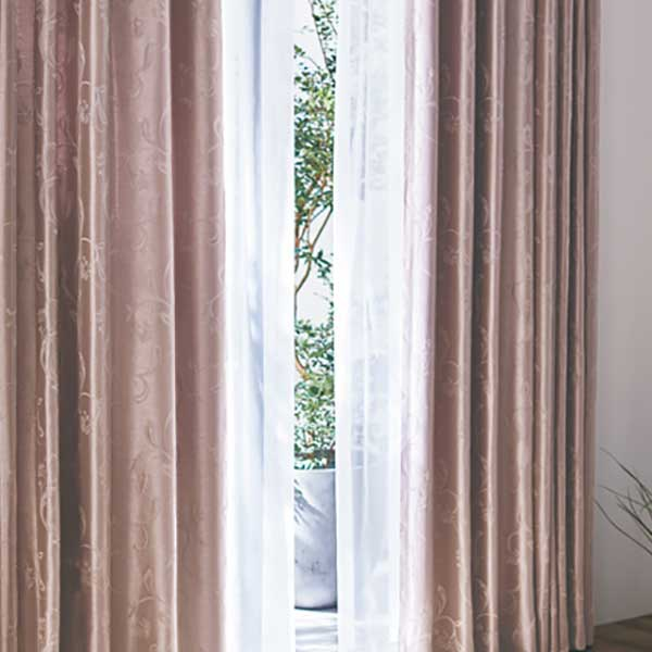 カーテン シェード 川島織物セルコン 遮光 FT6503~6505 ソフトウェーブ縫製 約1.5倍ヒダ