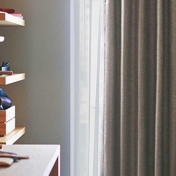 カーテン シェード 川島織物セルコン 遮光 FT6557~6560 ソフトウェーブ縫製 約2倍ヒダ