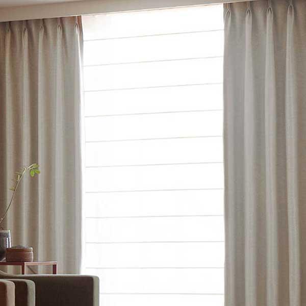 カーテン シェード 川島織物セルコン 遮光 FT6565~6569 ファインウェーブ縫製 約2倍ヒダ