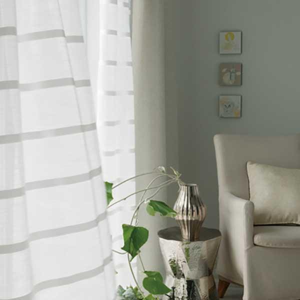 カーテン シェード 川島織物セルコン TRANSPARENCE FT6593~6597 スタンダード縫製 約2倍ヒダ