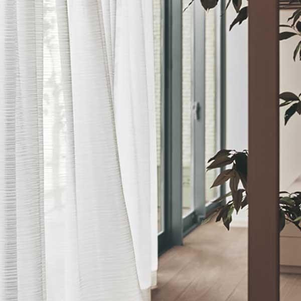 カーテン シェード 川島織物セルコン TRANSPARENCE FT6599 スタンダード縫製 約1.5倍ヒダ