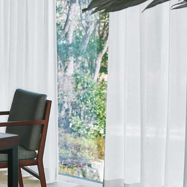 カーテン シェード 川島織物セルコン TRANSPARENCE FT6600 スタンダード縫製 約1.5倍ヒダ