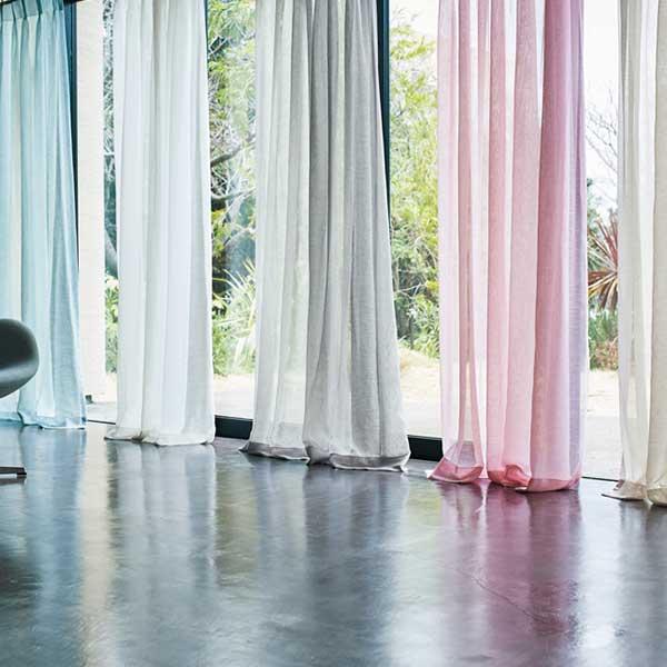カーテン シェード 川島織物セルコン TRANSPARENCE FT6602~6606 スタンダード縫製 約2倍ヒダ ヨコ使い ウエイトテープ付
