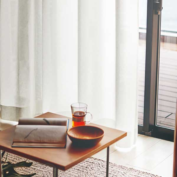 カーテン シェード 川島織物セルコン TRANSPARENCE FT6617 スタンダード縫製 約2倍ヒダ