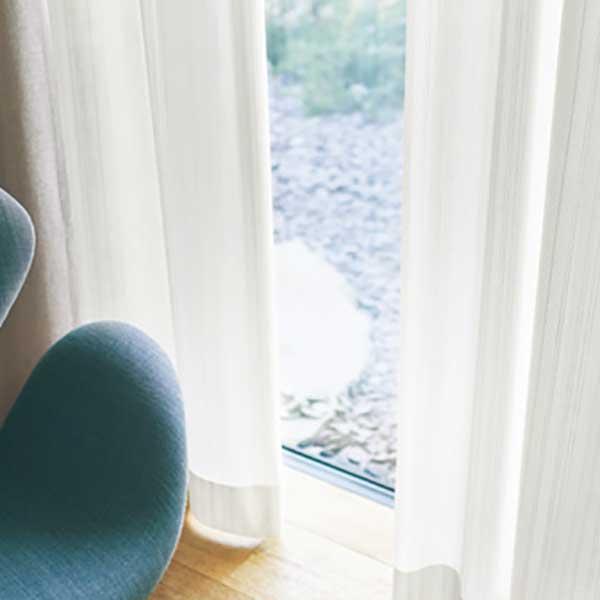カーテン シェード 川島織物セルコン TRANSPARENCE FT6625 スタンダード縫製 約2倍ヒダ