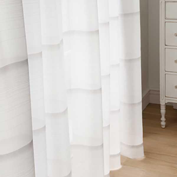 カーテン シェード 川島織物セルコン TRANSPARENCE FT6632~6633 スタンダード縫製 約1.5倍ヒダ
