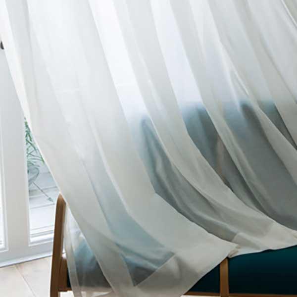 カーテン シェード 川島織物セルコン TRANSPARENCE FT6634~6635 スタンダード縫製 約1.5倍ヒダ