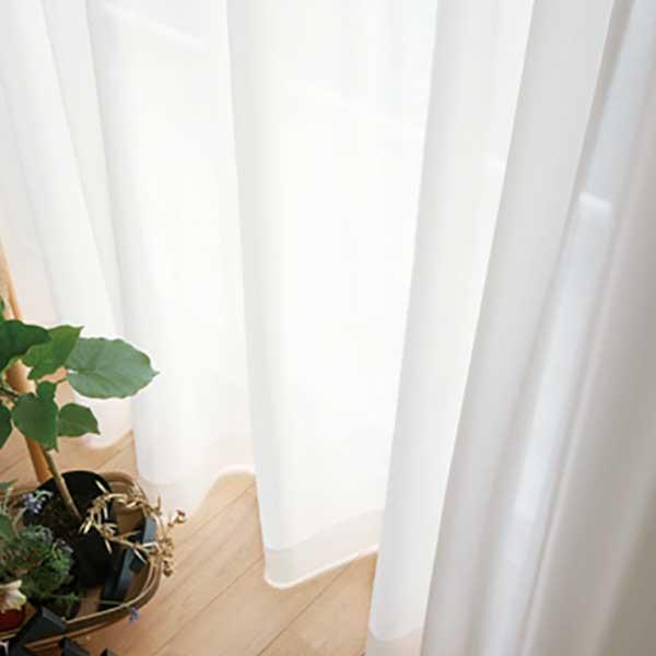 カーテン シェード 川島織物セルコン TRANSPARENCE FT6636 スタンダード縫製 約2倍ヒダ