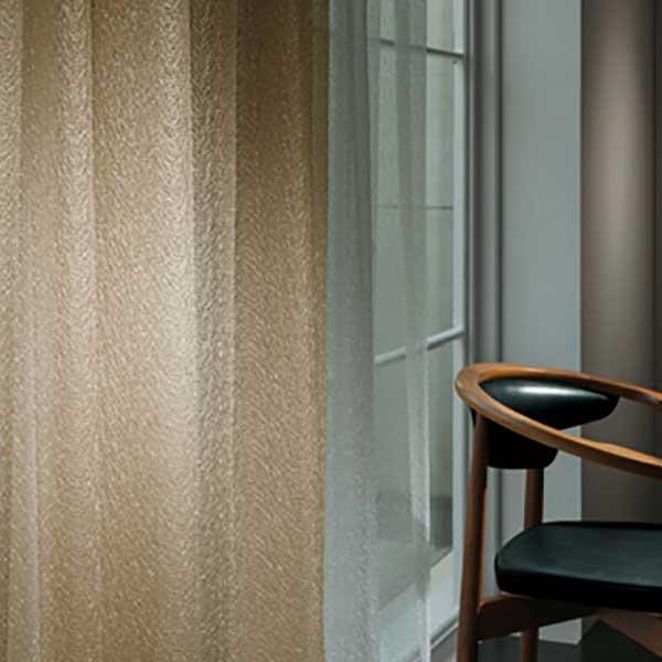 カーテン シェード 川島織物セルコン TRANSPARENCE FT6644~6646 スタンダード縫製 約2倍ヒダ