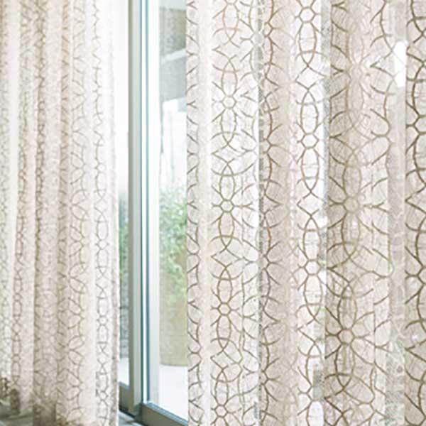 トレンドの木質空間にフォーカスし より個性的でクリエイティブ な素材を提案します カーテン 日本産 激安特価品 シェード TRANSPARENCE FT6660~6661 約1.5倍ヒダ スタンダード縫製 川島織物セルコン