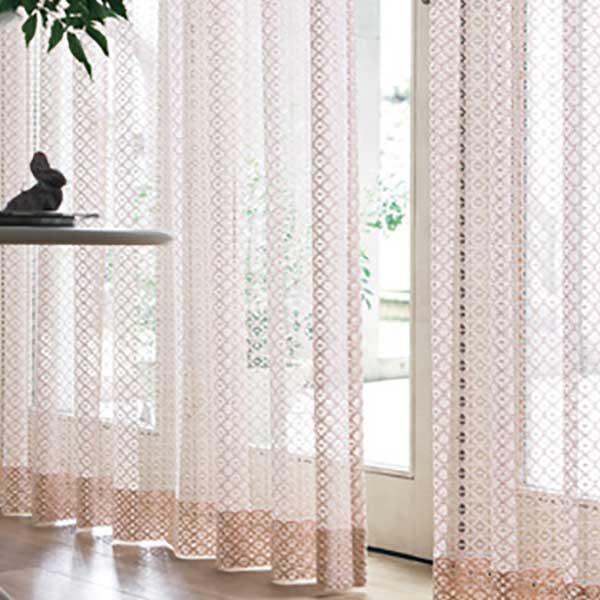 カーテン シェード 川島織物セルコン TRANSPARENCE FT6667~6668 スタンダード縫製 約2倍ヒダ