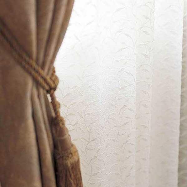 カーテン シェード 川島織物セルコン TRANSPARENCE FT6671 スタンダード縫製 約1.5倍ヒダ ヨコ使い ウエイトテープ付