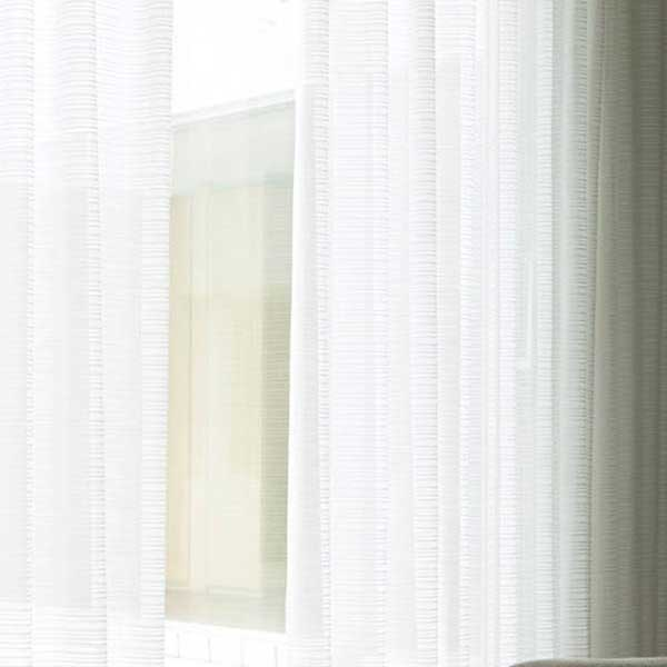 カーテン シェード 川島織物セルコン TRANSPARENCE FT6677 スタンダード縫製 約2倍ヒダ ヨコ使い ウエイトテープ付