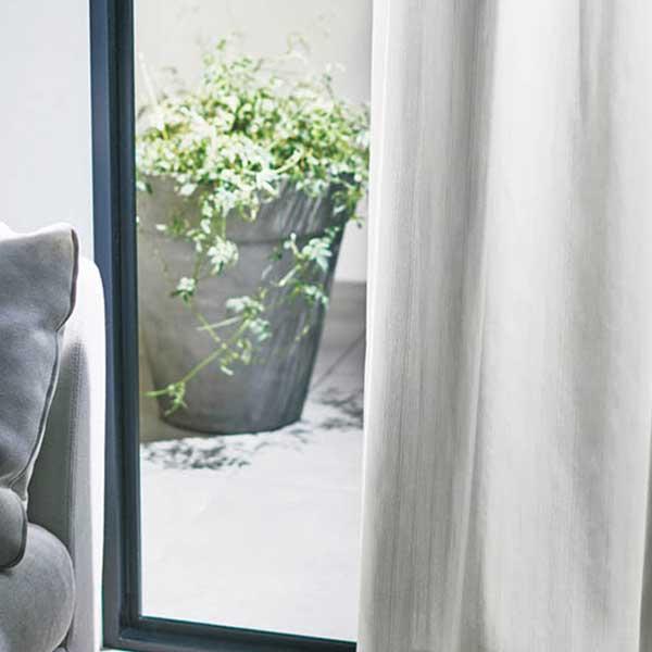 カーテン シェード 川島織物セルコン MIRROR LACE FT6706 スタンダード縫製 約1.5倍ヒダ ヨコ使い ウエイトテープ付