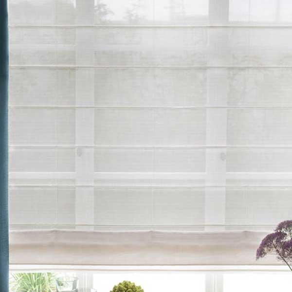 カーテン シェード 川島織物セルコン MIRROR LACE FT6709 スタンダード縫製 約1.5倍ヒダ ヨコ使い ウエイトテープ付
