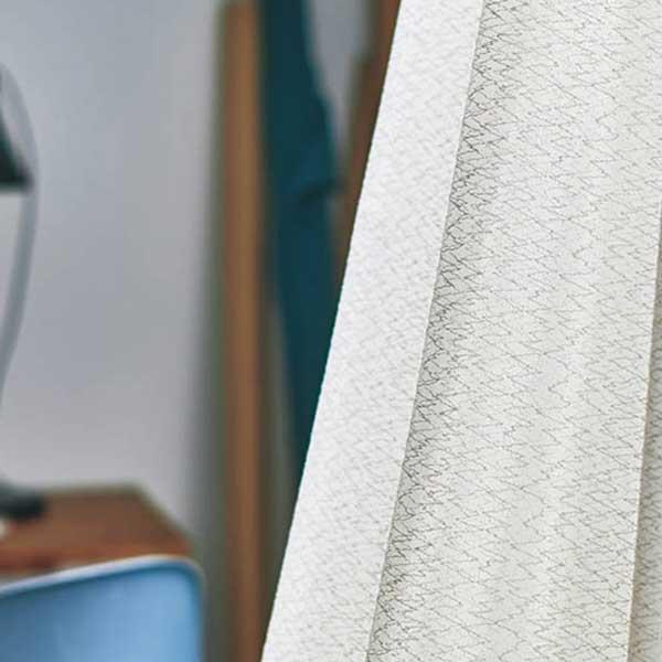 カーテン シェード 川島織物セルコン MIRROR LACE FT6712 スタンダード縫製 約2倍ヒダ