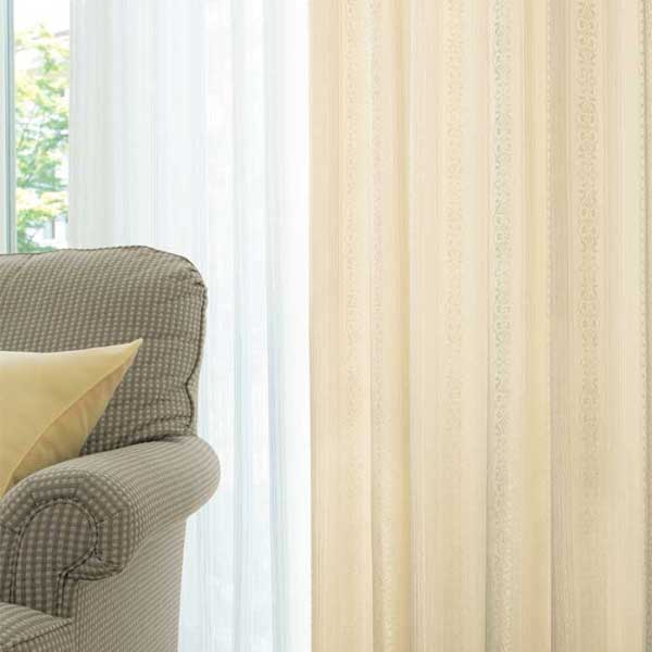 スミノエ face フェイス コントラクトカーテン 福祉 パターン E-5128~5135 スタンダード縫製(S) 約2倍ヒダ