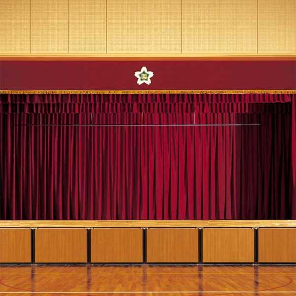 スミノエ face フェイス コントラクトカーテン 教育 プレーン遮光 ニューナイトシティ E-5446~5452 スタンダード縫製(VS) 約1.5倍ヒダ