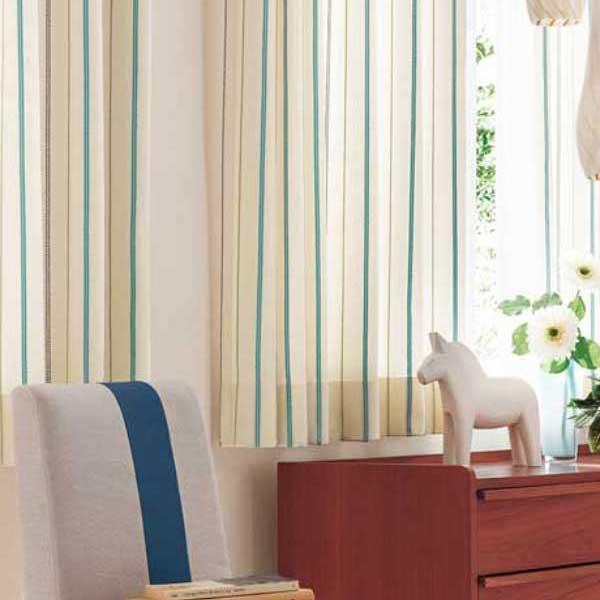 カーテン 激安 東リ オーダーカーテン&シェード elure カジュアル KSA60051・KSA60052スタンダード縫製 約2倍ヒダ 3ツ山仕様 (税別価格) タッセル含む