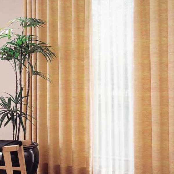 カーテン 激安 東リ オーダーカーテン&シェード elure 和風 KSA60169スタンダード縫製 約1.5倍ヒダ 2ツ山仕様 (税別価格) タッセル含む