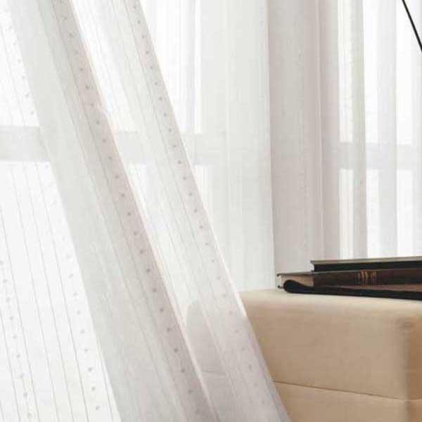 カーテン 激安 東リ オーダーカーテン&シェード elure ボイル&レース KSA60431スタンダード縫製 約1.5倍ヒダ 2ツ山仕様 (税別価格) タッセルなし