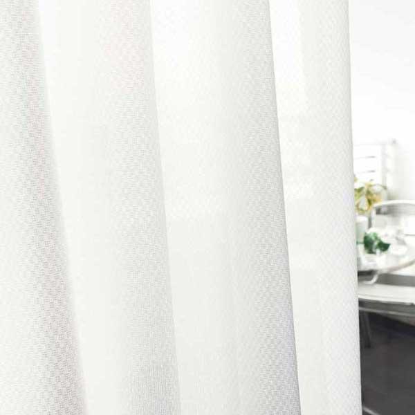 カーテン 激安 東リ オーダーカーテン&シェード elure 機能 ボイル&レース KSA60454スタンダード縫製 約1.5倍ヒダ 2ツ山仕様 (税別価格) タッセルなし