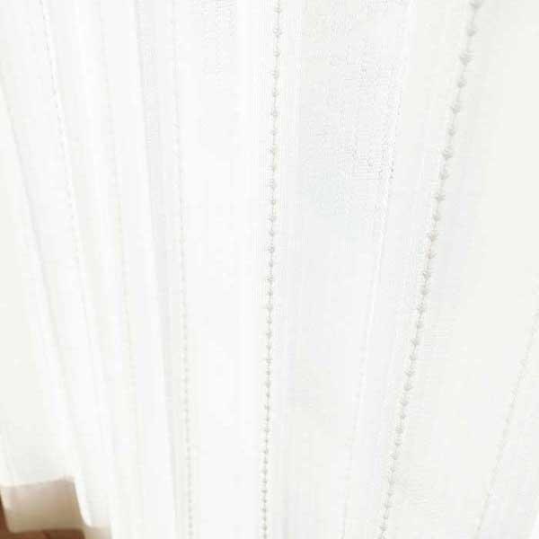 カーテン 激安 東リ オーダーカーテン&シェード elure 機能 ボイル&レース KSA60467スタンダード縫製 約1.5倍ヒダ 2ツ山仕様 (税別価格) タッセルなし