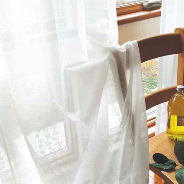 カーテン 激安 東リ オーダーカーテン&シェード elure ミラーレース KSA60485スタンダード縫製 約2倍ヒダ 3ツ山仕様 (税別価格) タッセルなし