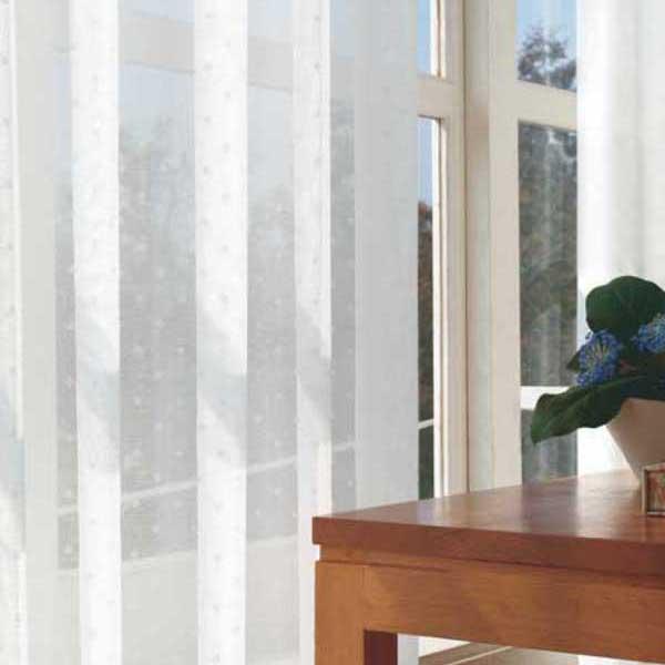 カーテン 激安 東リ オーダーカーテン&シェード elure ミラーレース KSA60487スタンダード縫製 約1.5倍ヒダ 2ツ山仕様 (税別価格) タッセルなし