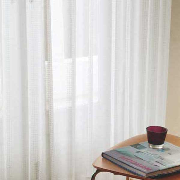 カーテン 激安 東リ オーダーカーテン&シェード elure ミラーレース KSA60490スタンダード縫製 約2倍ヒダ 3ツ山仕様 (税別価格) タッセルなし