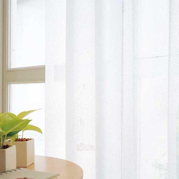 カーテン 激安 東リ オーダーカーテン&シェード elure ミラーレース KSA60491スタンダード縫製 約1.5倍ヒダ 2ツ山仕様 (税別価格) タッセルなし