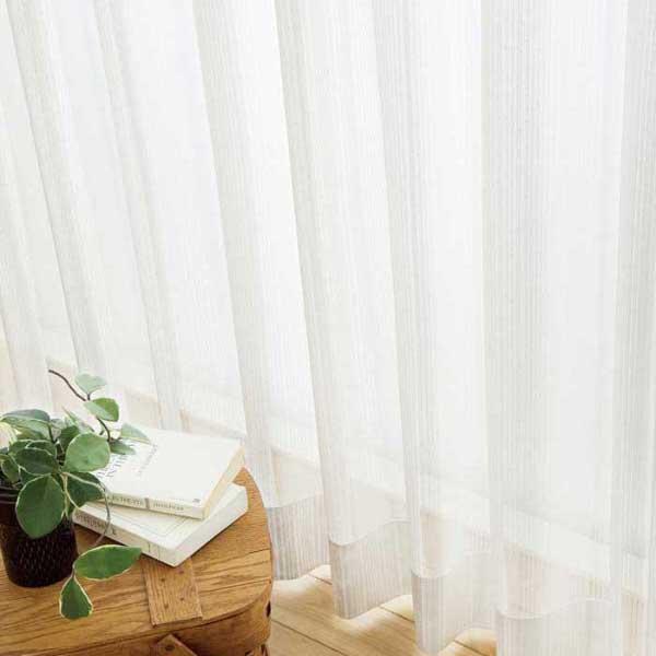 カーテン 激安 東リ オーダーカーテン&シェード elure ミラーレース KSA60492スタンダード縫製 約1.5倍ヒダ 2ツ山仕様 (税別価格) タッセルなし