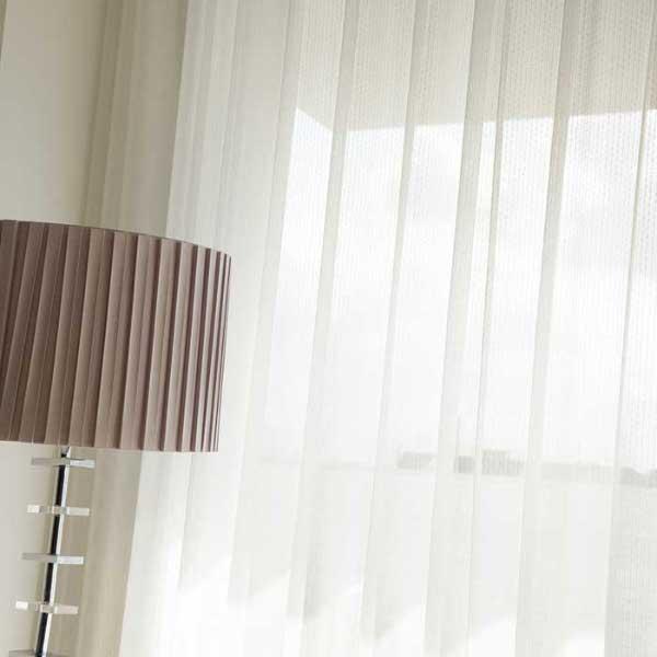 カーテン 激安 東リ オーダーカーテン&シェード elure ミラーレース KSA60493スタンダード縫製 約1.5倍ヒダ 2ツ山仕様 (税別価格) タッセルなし