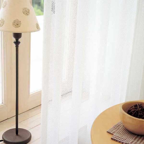 カーテン 激安 東リ オーダーカーテン&シェード elure ミラーレース KSA60494スタンダード縫製 約1.5倍ヒダ 2ツ山仕様 (税別価格) タッセルなし