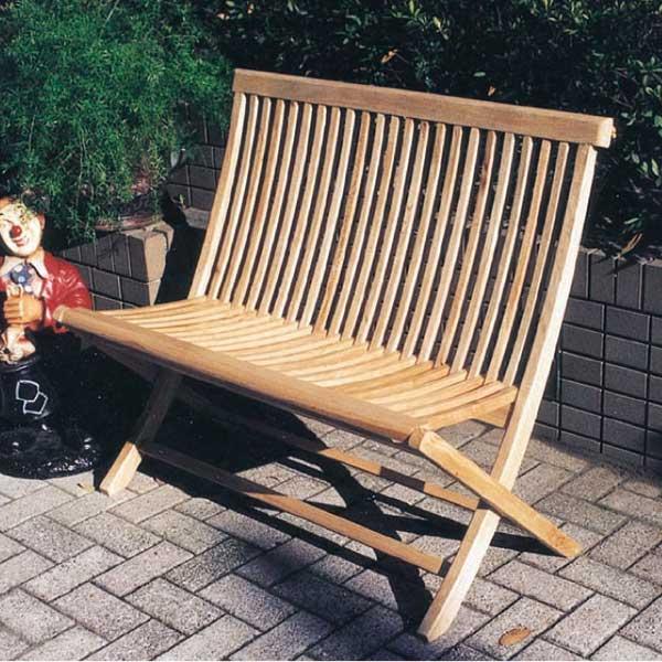 コード(20868) ガーデニング Garden+Interior★折り畳みラブチェア 我が家の素敵なガーデン&インテリア JABIS