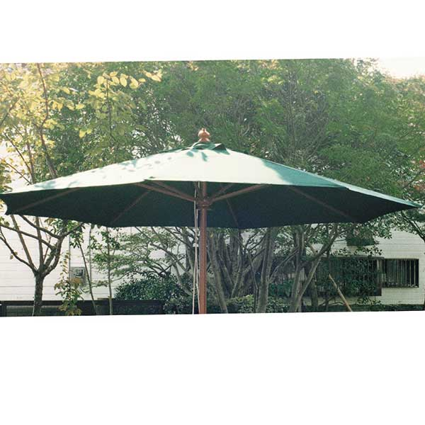 ガーデニング Garden+Interior★3.0mφ アンブレラ JABIS コード(13062) グリーン 我が家の素敵なガーデン&インテリア