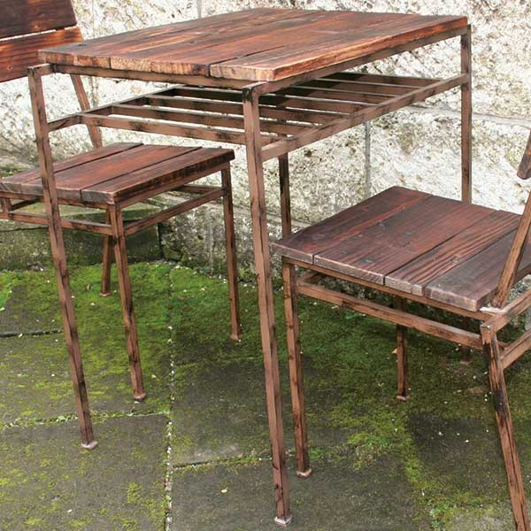 JABIS コード(34222) ガーデニング 我が家の素敵なガーデン&インテリア Garden+Interior★スクラップテーブル