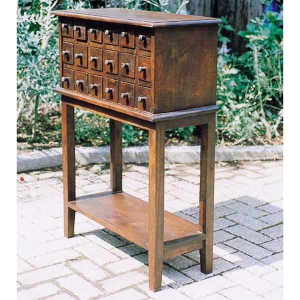 ガーデニング 我が家の素敵なガーデン&インテリア JABIS Garden+Interior★小引出テーブル コード(35244)